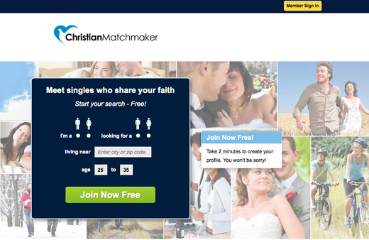 Christian matchmaker login