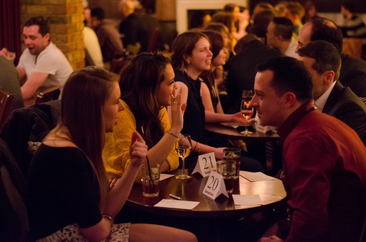 Speed dating events in london