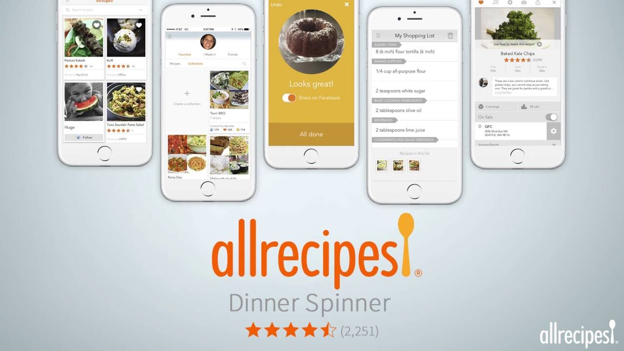 All recipes app