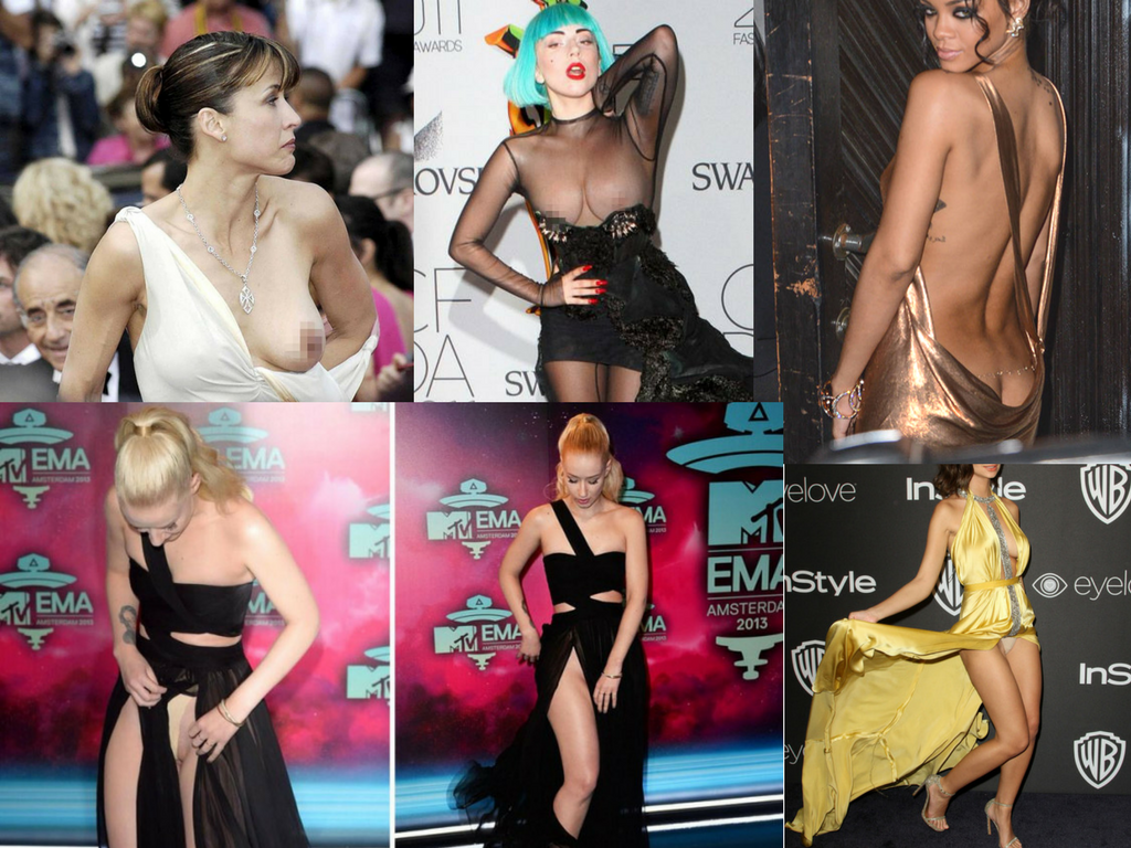 Celebrity wardrobe mishaps