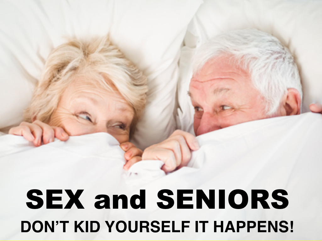 Seniors having intercourse