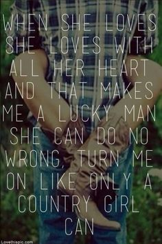 Country songs girls love