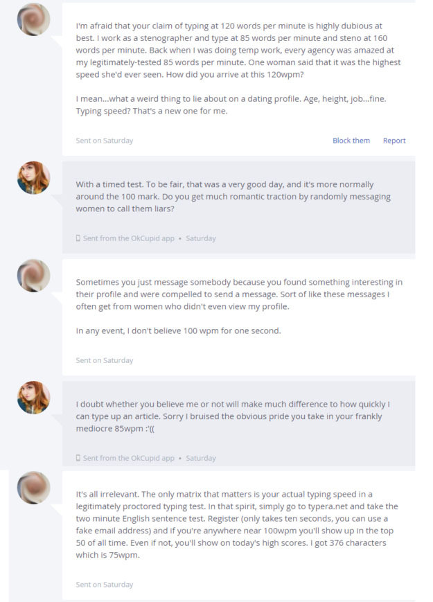 What to say to a girl on okcupid