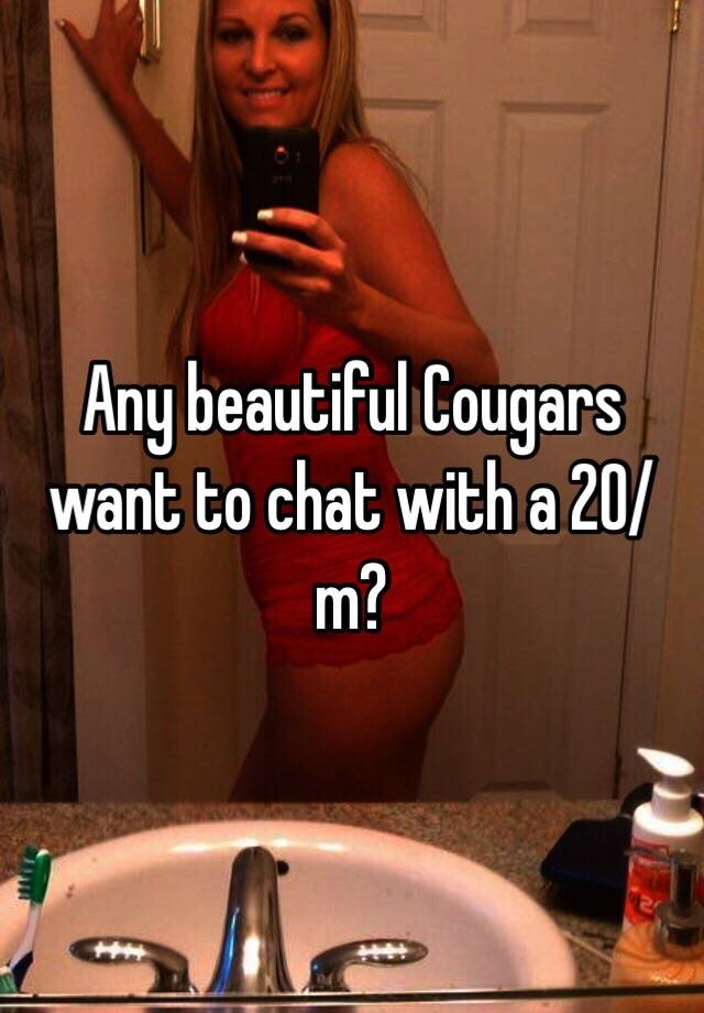 Chat with cougars