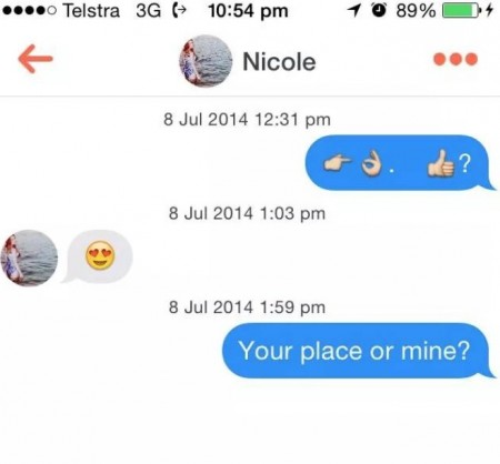 Tinder one liners