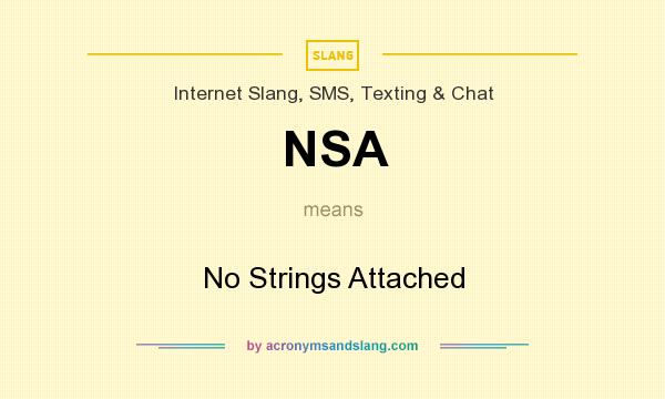 What is nsa slang