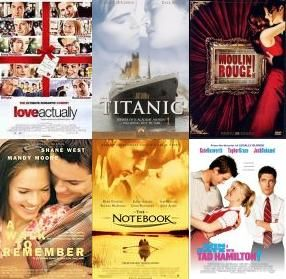Top romace movies