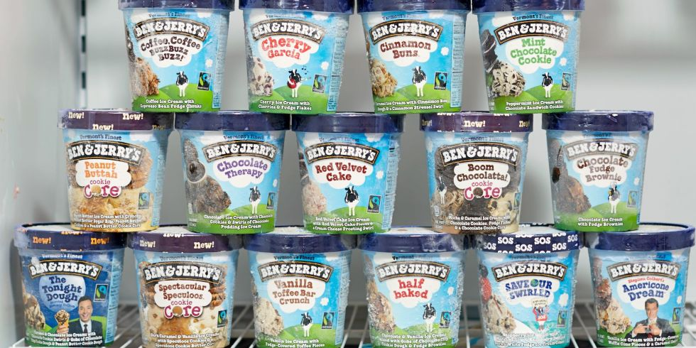 Ben and jerrys flavors ranked