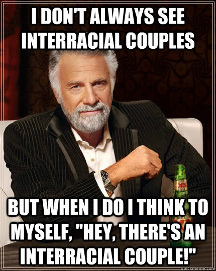 Interracial dating funny