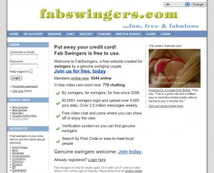 Fab swingers mobile site