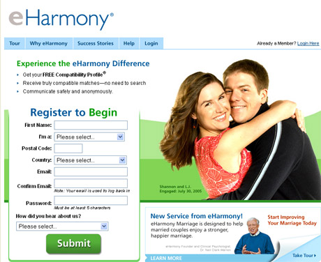 Compare eharmony and match