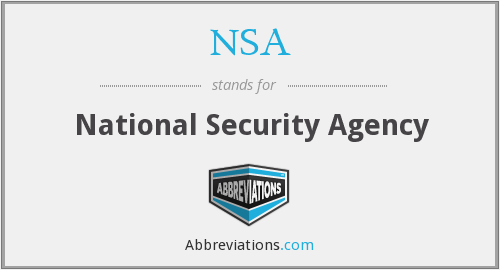 Nsa stands for
