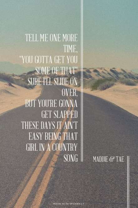 Meaningful country songs