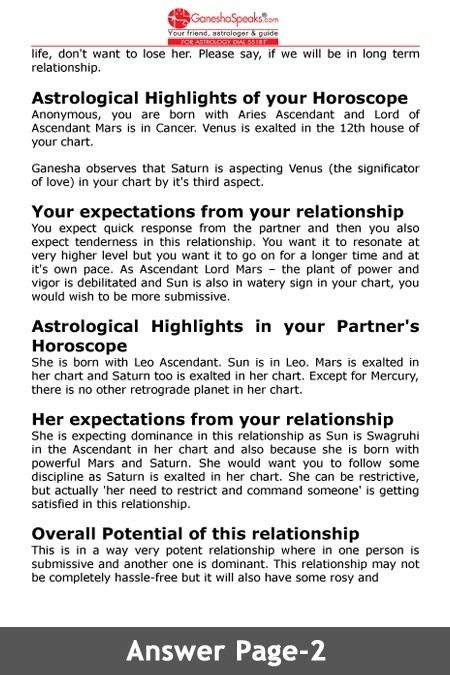 Gay horoscope compatibility