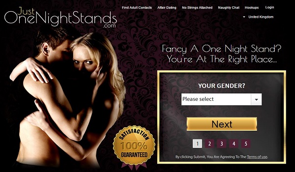 Websites for one night stands