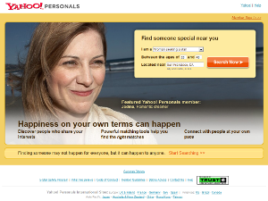 Yahoo personals dating