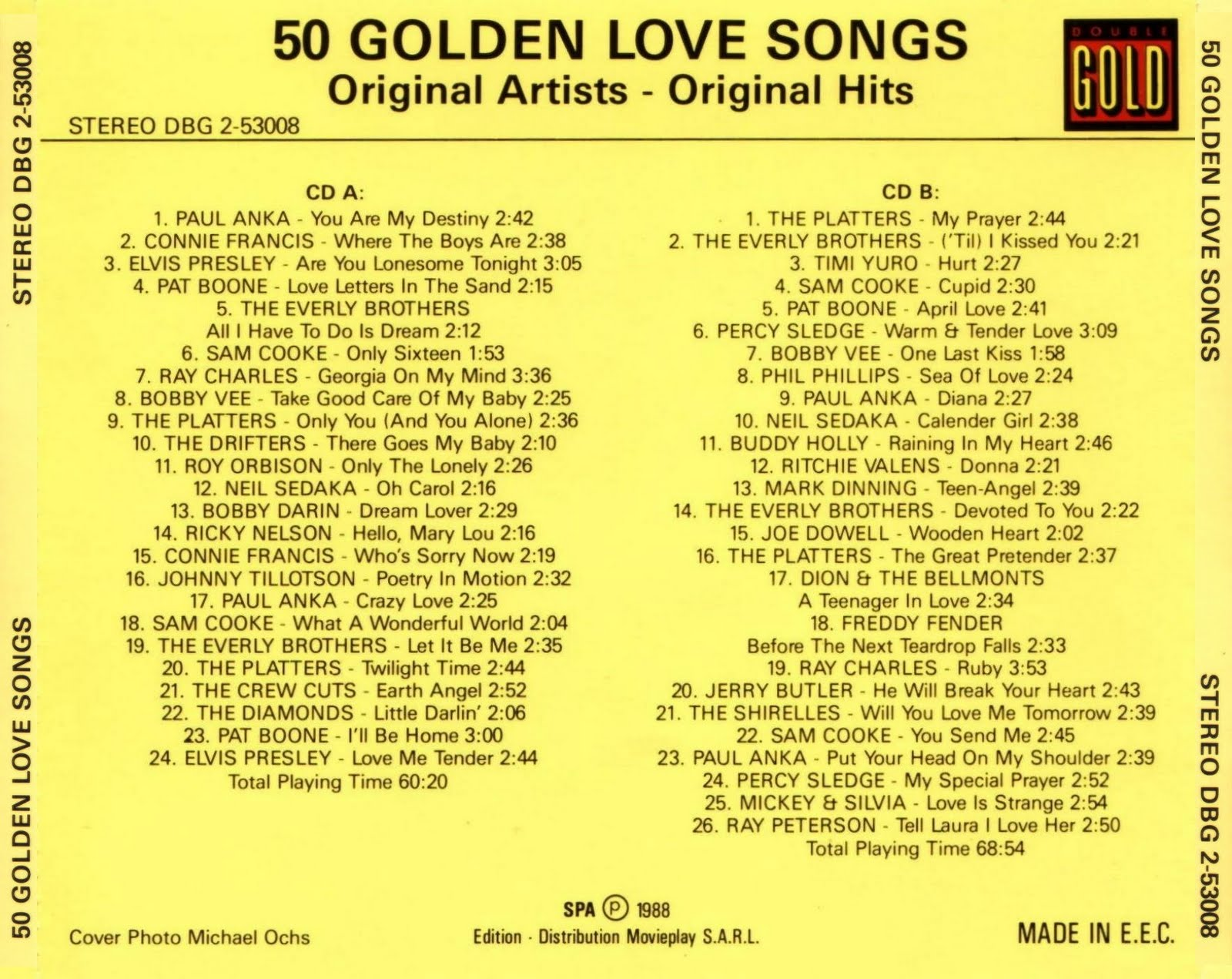 List of love song