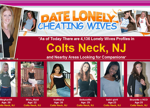 Lonely cheating wives