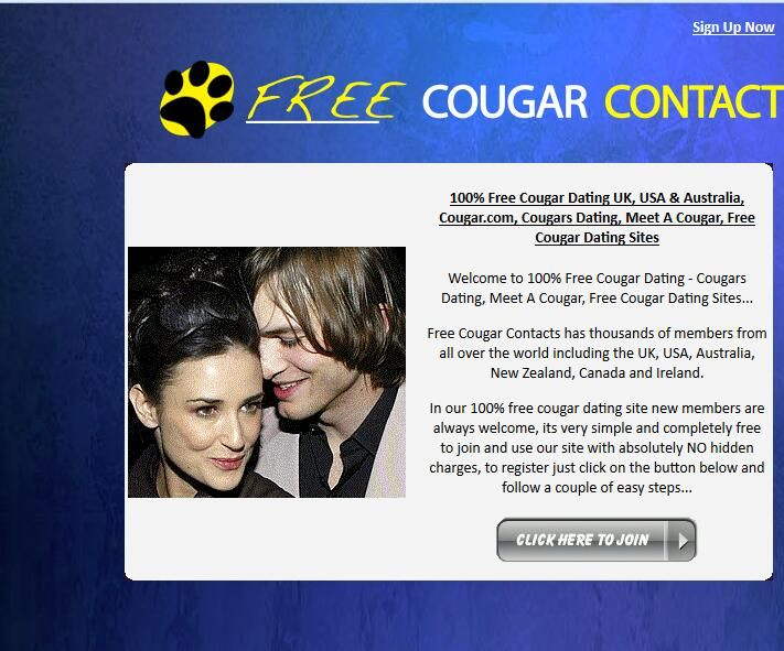 Cougar dating free messaging