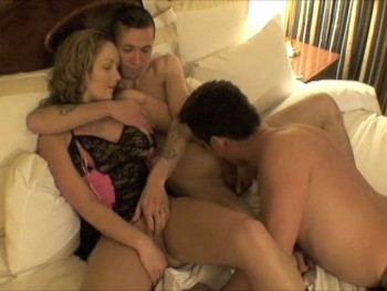Amateur bisexual couple