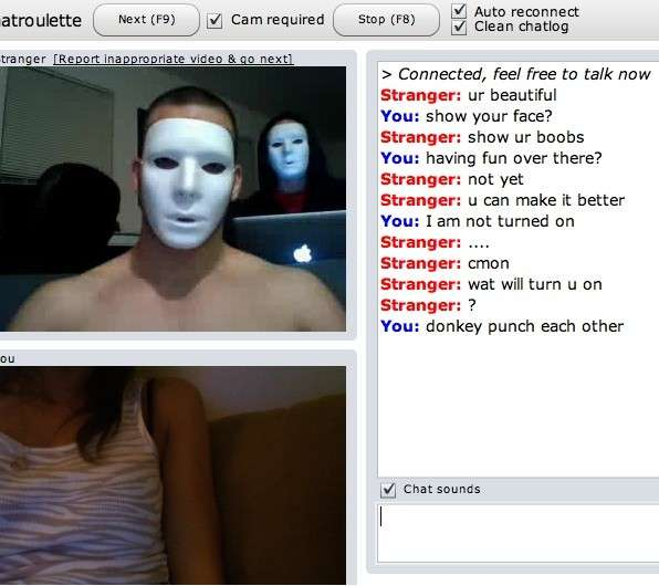 Anonymous cam chat