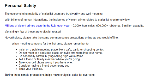 Are craigslist personals legit