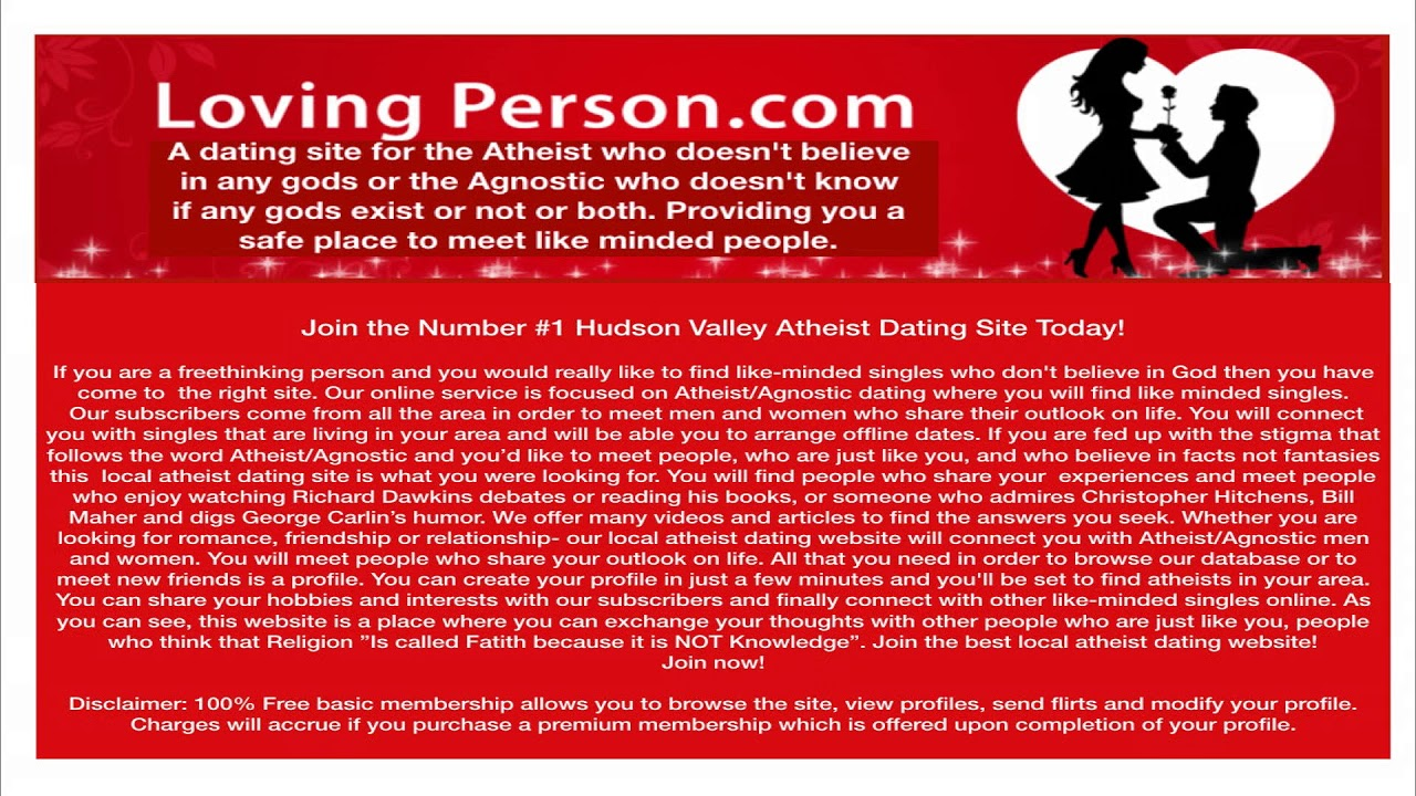 Atheist dating site