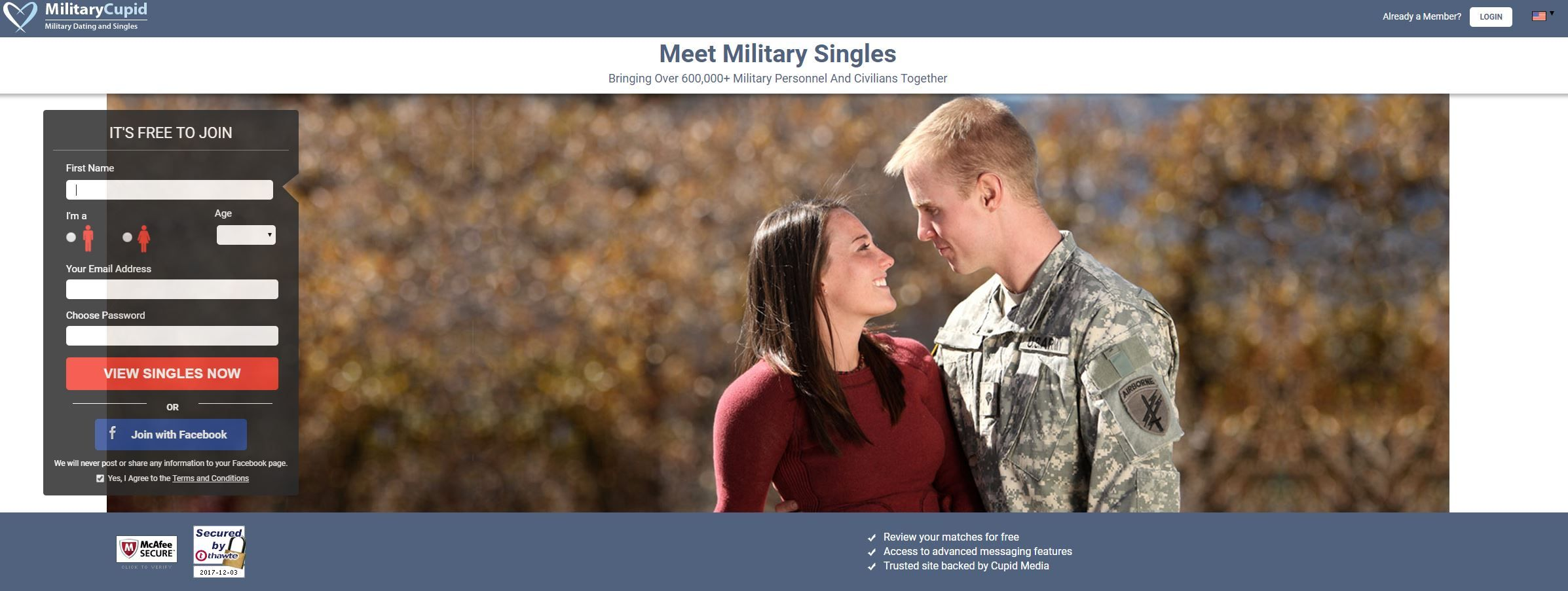 Best place to meet military singles