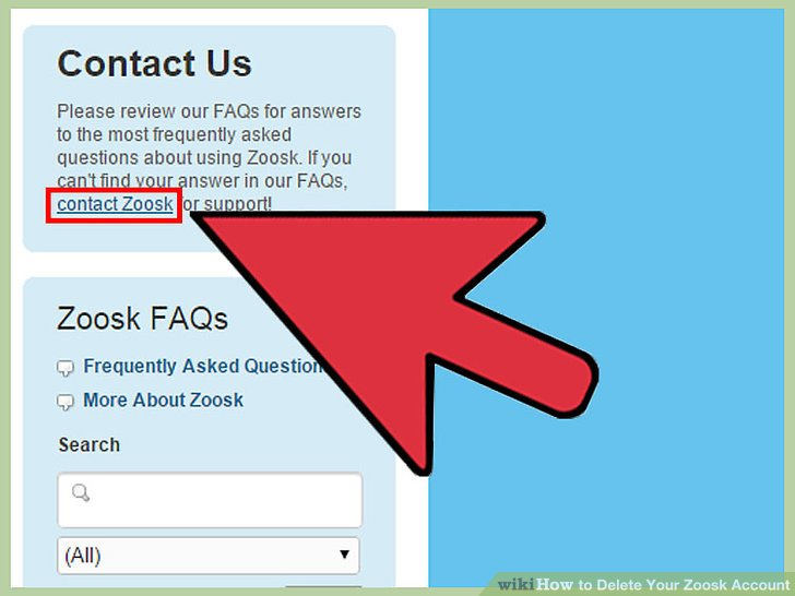 How to delete account on zoosk