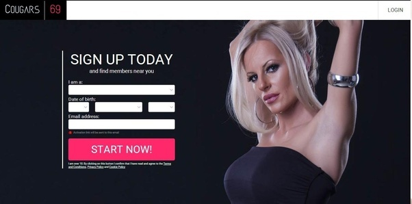 Website for meeting cougars