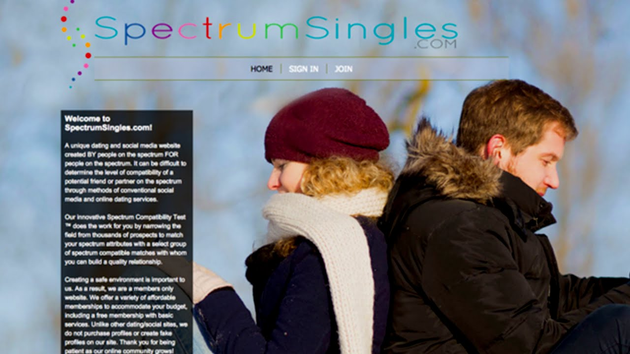 Autism dating website