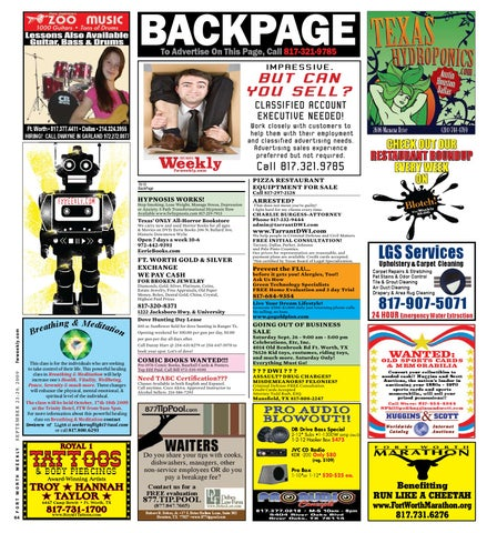 Backpage fort worth fwweekly