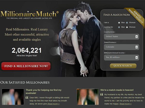 Wealthy men dating site reviews