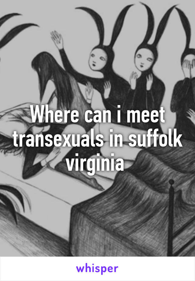 Where can i meet transexuals