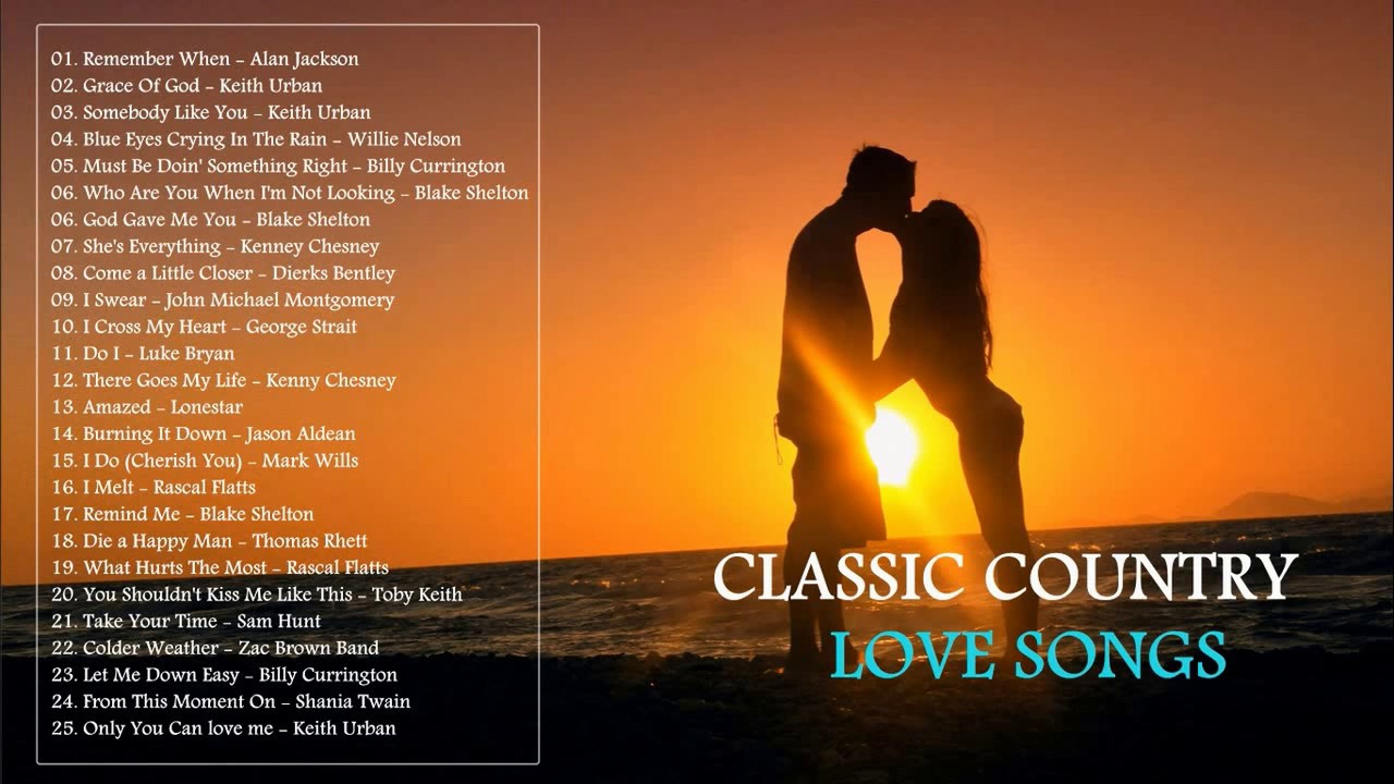 Best classic country love songs