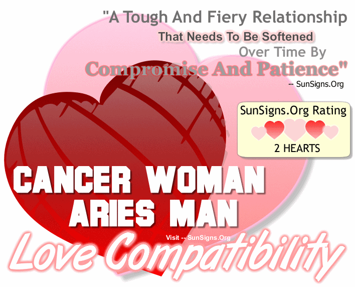 the best compatible sign for cancer