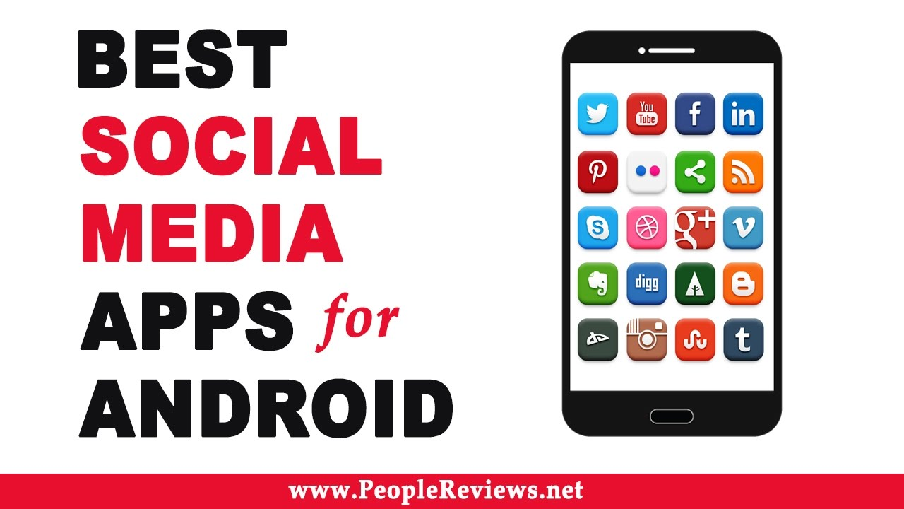 Best social media apps for android