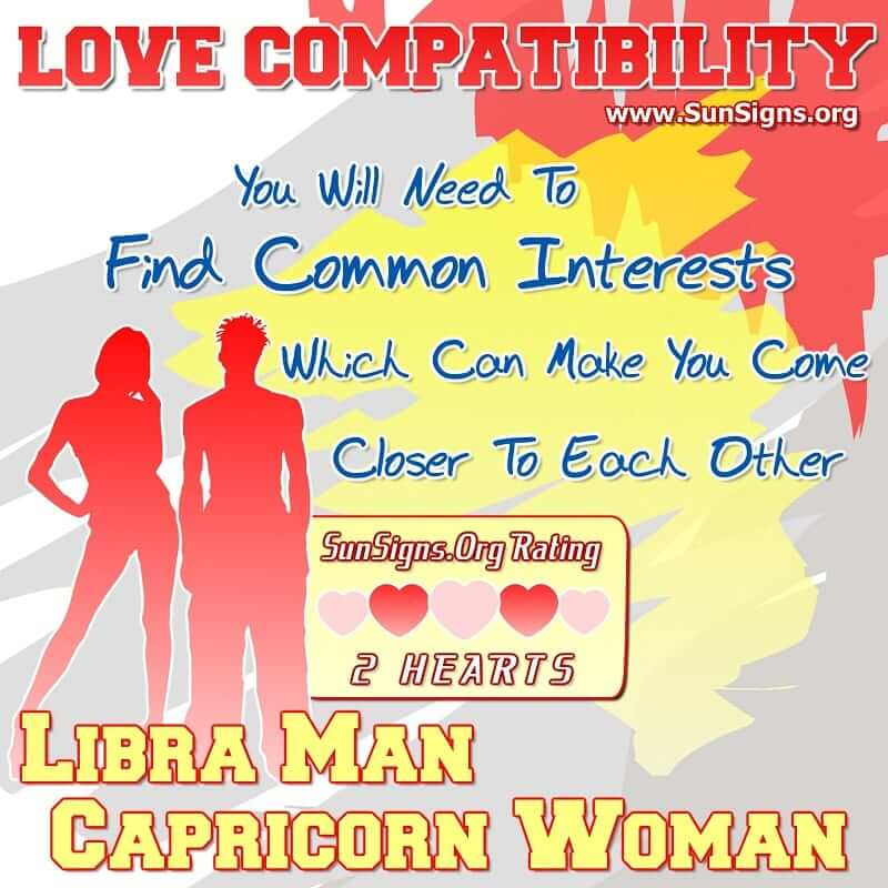 Libra compatible with capricorn