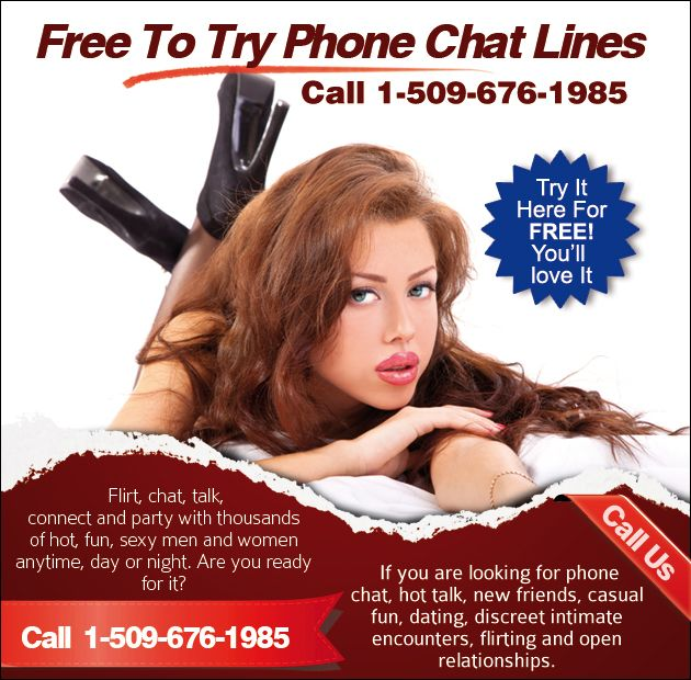 Black free trial chat lines
