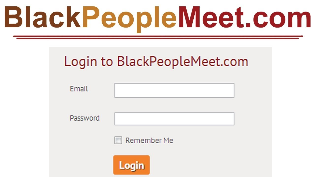 Blackpeoplemeetlogin