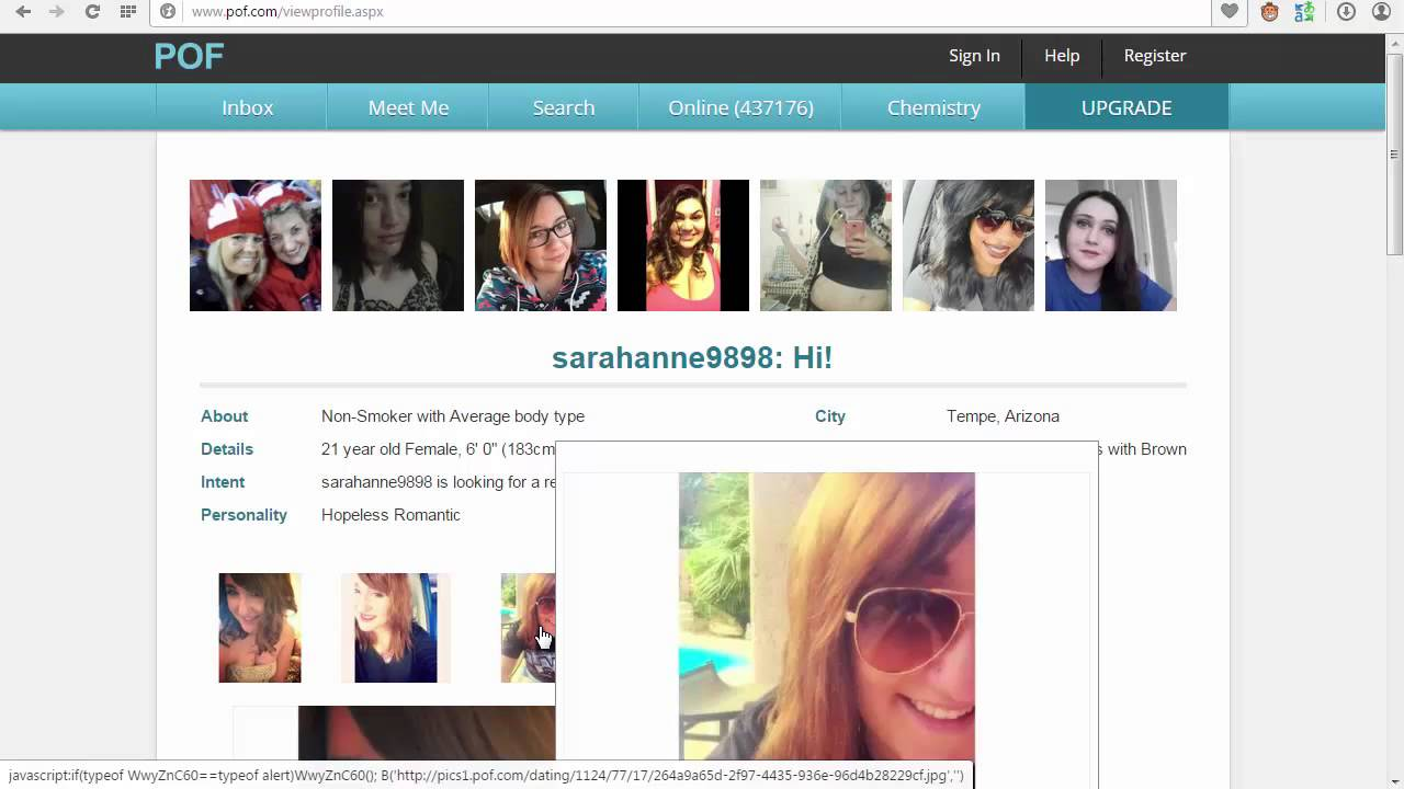 Browse dating sites without signing up