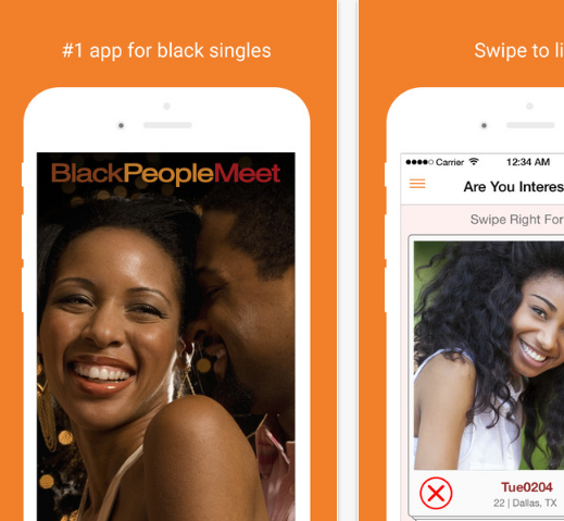 Blackpeoplemeet mobile app