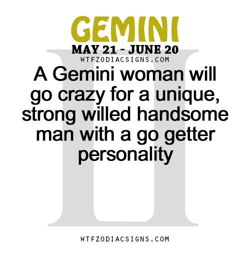 Best signs for gemini woman
