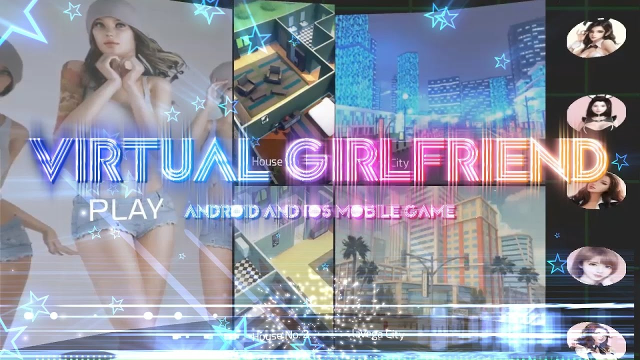 Virtual girlfriend games for android