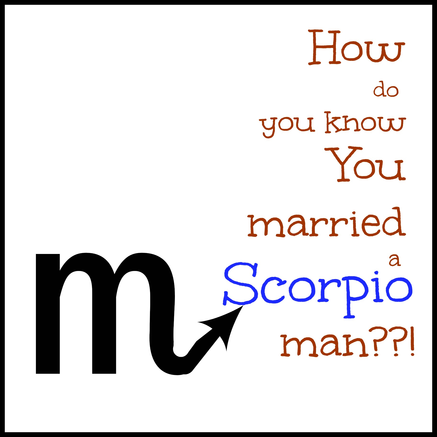 Can you trust a scorpio man