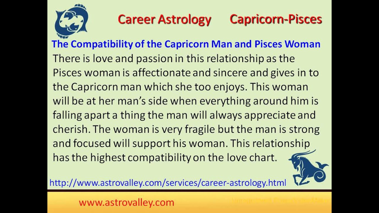 Capricorn and pisces relationship compatibility