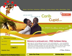 Caribbean dating website