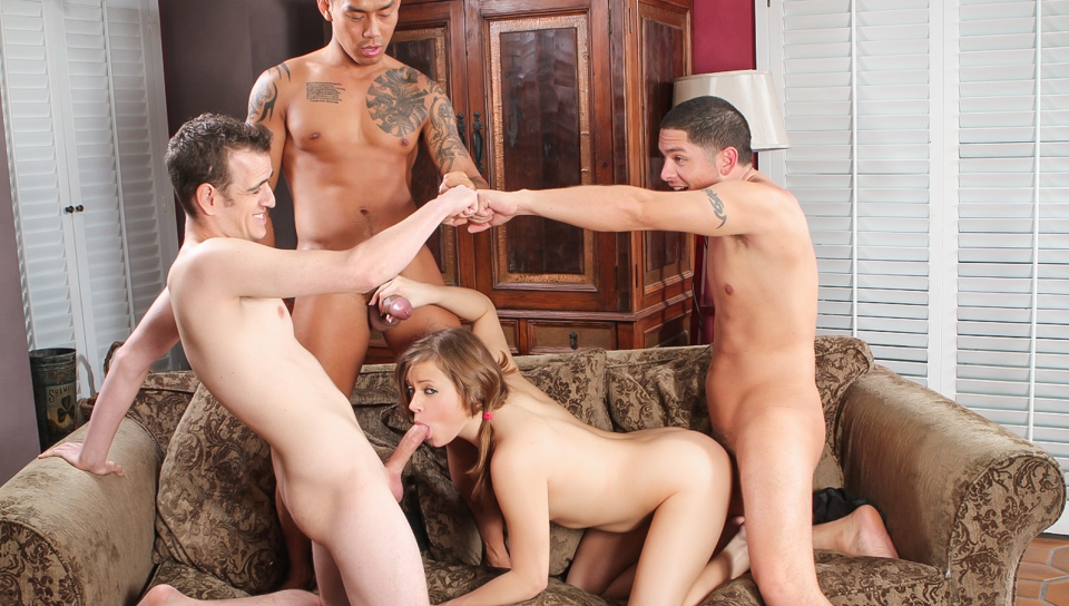 Casual group sex