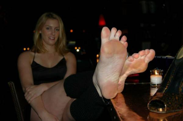 Ladies foot fetish
