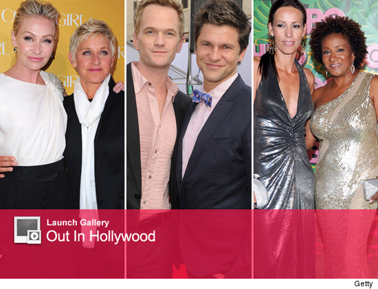 Celebrity gays and lesbians